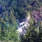 Gorge Lake Dam, outside Newhalem, WA