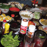 A Mismatched Feast in Japan